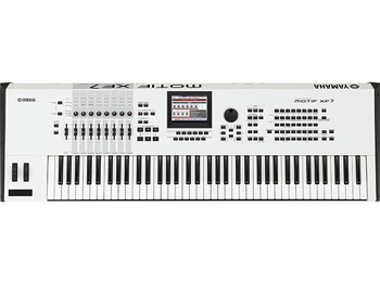 (Sold Out)YAMAHA MOTIF XF7 White